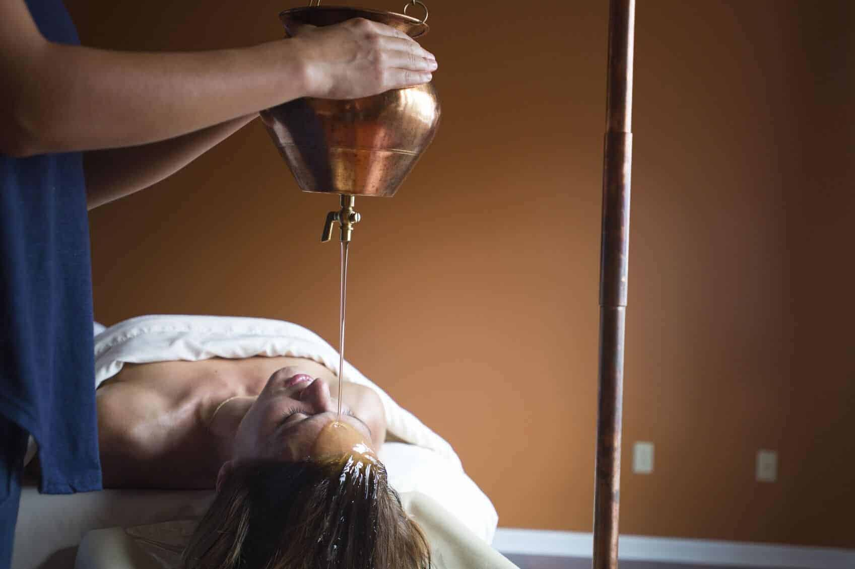 Ayurvedic center with relaxing wellness treatments.